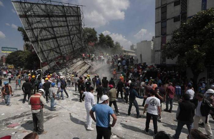 Immagine correlata a Il racconto del dopo terremoto in Messico