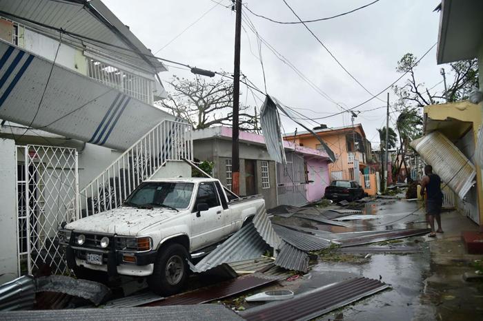 Immagine correlata a L'uragano si abbatte su Porto Rico