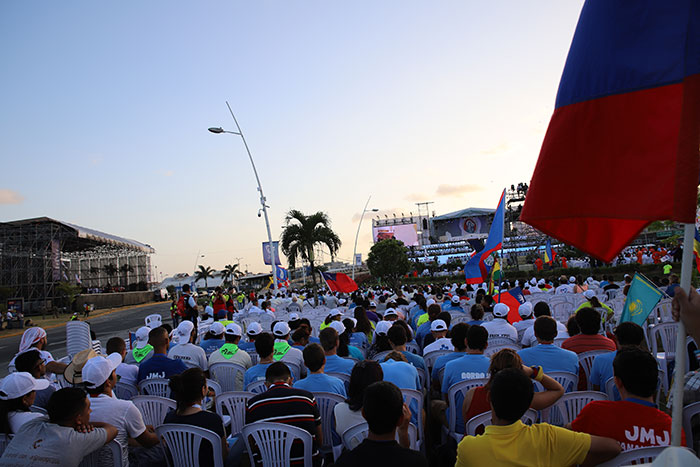 Immagine correlata a At the start of the World Youth Day (WYD) in Panama 2019