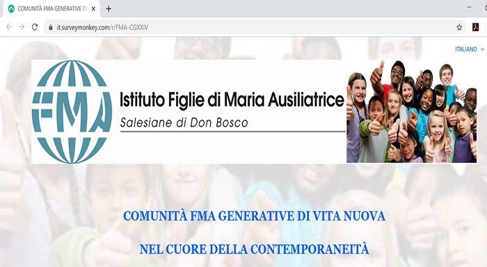 Immagine correlata a Towards CG XXIV: online survey
